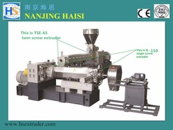 Electrical Wire Cable Making Equipment/ PVC Granules Making Machine for Cables and Wires