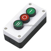 3 hole industrial push button switch control box