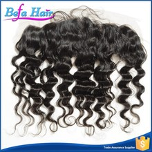 Hair product Top grade weave 6a 100% virgin brazilian hair lace frontal closures