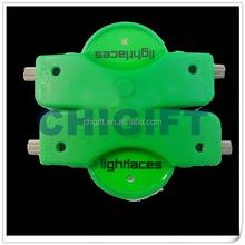 Rainbow Nylon LED Shoelaces