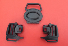 Yixiang 2015 high quality 5-way plastic safety buckle, baby trolly buckle accessories