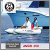 Silver Marine Small rib boat,Hypalon yacht tender (ANGEL 250) 2.5 meter