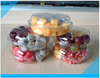 Hot sale fresh fruit corrugated PP PVC clear plastic fruit tray/fruit box packaging