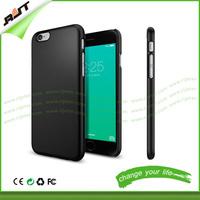 NEW 2015 Premium Matte Finish Hard pc phone case for iPhone 6S Plus, hard black phone case