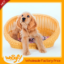 Hot selling pet dog products rattan dog bed