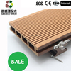 2015 Recycled wood waste and plastic made composite decks/decking board, black, Outdoor WPC flooring/deck floor covering,