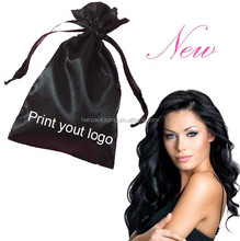 Satin Hair Extension Packaging hair bag