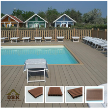 Hot Sell Traditional wpc crack-resistant decking (Wood Plastic Composite)