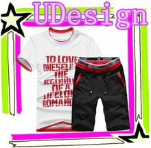 Red and black suits for men plain sweat suits boys sweat suits