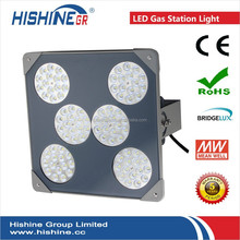 oil field high quality powerful 90w led flameproof well glass gas station light
