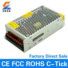 Factory direct sales 200w single output power supply 5v 40a led driver