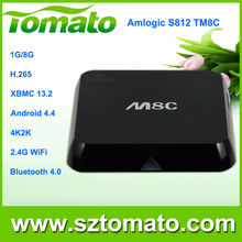 quad core amlogic S812 android smart game console TM8C