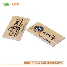 promotion name card disposable usb flash drive with free printing logo