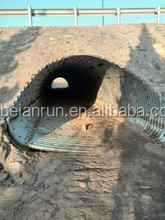 corrugated steel culvert plate, structural plate arch