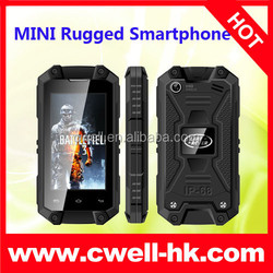 Cheap Waterproof Smartphone Mini J5 Android IP54 Waterproof MTK6572W Dual Core Rugged Cell Phones