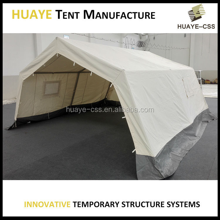Aluminum frame tent with canvas cover of military tents for A frame canvas tents for sale