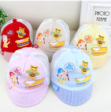 New arrival baby flat visor cotton baseball cap