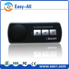 Voice prompt Language optional Bluetooth Handsfree Car Kit Hands-free Phone System Automatically Connect HF610