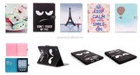 Flip PU wallet case for ipad mini 2, Credit card case pouch with stand for ipad mini 3