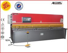 iron bar bending QC12Y-4x4000 Hydraulic sheet metal guillotine cutting machine for alunimun window
