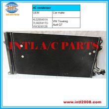 4L0260401A Auto air Condenser fits for Audi Q7 VW Touareg 7L0820411G VW3030126 7L0820411G 7L0820411F
