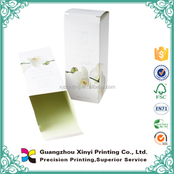 Cheap offset printing wholesale small art paper olive oil box
