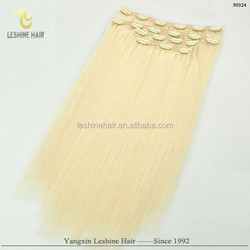 Top Selling Products Direct Manufacture Premium Quality Single Donor no tangle no shed afro textured clip in hair exten