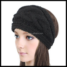 Women's Wide Cable Knit Headband