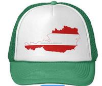 Austria flag hat
