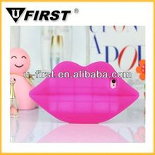 2014 New red lip case,cover case for apple or for samsung