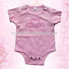 Ropa bebé rosado encantador mameluco