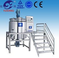 500L shampoo making production line,liquid detergent production plant with high quality