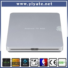 Only OEM order!!! Amlogic S805 quad core metal case 4k TV 1080p set top box