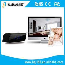 WiFi Hidden Cameras Wireless clock camera,wifi clock camera, HD 720P WiFi DVR Hidden Cameras clock with night vision