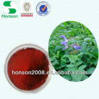 herbal medicine danshen extract powder hplc from salvia miltorrhiza bge for wholesale