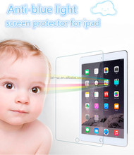 wholesale mobile phone in china reflective transparent film tempered glass screen protector anti blue light for ipad