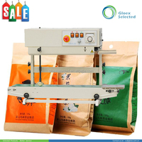 Plastic Stand-up Pouch band band sealer with nitrogen gas filler