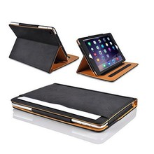 Wholesale Black and Tan Case ,For Ipad air 2 Tablet Case