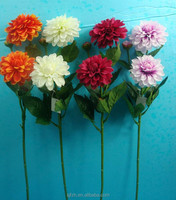 Wholesale Hot new products Artificial handmade fabric chrysanthemum Flower