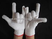 de punto de algodón guante guantes de trabajo baratas