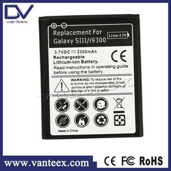 Hot selling replacement phone battery for samsung galaxy s3 battery gb t18287-2000