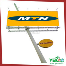 Good quality antirust steel signboard structure design