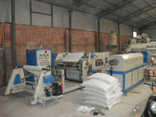 extruding machine for glue film and shoes material