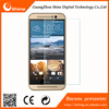 Newest! Curved edge tempered glass screen protector for HTC One M9 ,9H 0.3MM 2.5D glass for HTC One M9