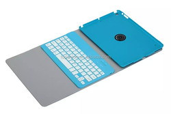 Hot selling factory price for ipad air 2 rotating keyboard cover case pu leather flip case