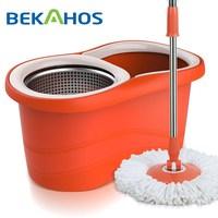 2015 New Arrival Orange Microfiber Cleaning Mop
