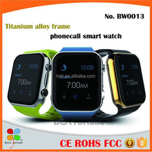 Hot Sale Titanium Alloy Frame Smart Phone Watch WIFI Positioning, Touch Screen Android System Smart Bracelet
