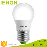 IENON New style energy saving wide beam angle COB 3W 5W 7W 9W e27 led light bulb with CE ROHS approved