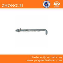L Type Anchor Bolt with Nut and Washer of Good Quality
