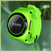 Real Time Popular Kids GSM GPS Tracker Watch 2015 With SOS Panic Button